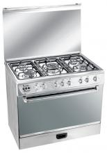 "Star 30"" 5 Burner Stainless Steel Gas Stove"